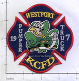 Missouri - Kansas City Pumper 35 Truck 17 Fire Dept Patch
