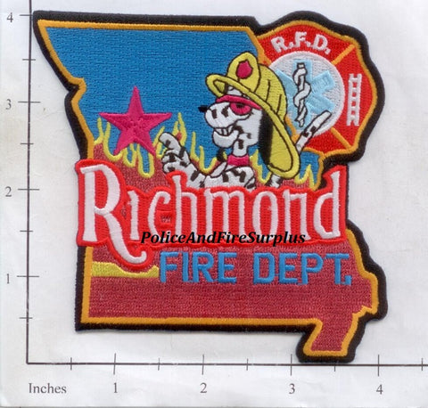 Missouri - Richmond Fire Dept Patch