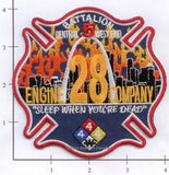 Missouri - St Louis Engine 28 & Battalion 5 Fire Dept Patch