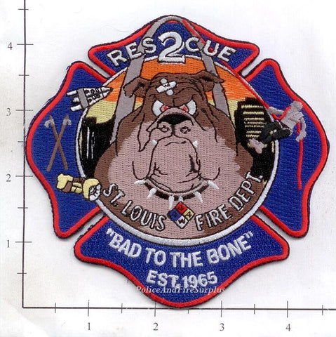 Missouri - St Louis Rescue 2 Fire Dept Patch