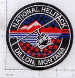 Montana -  Dillon National Helitack Fire Dept Patch