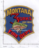Montana -  3 Forks Fire Dept Patch