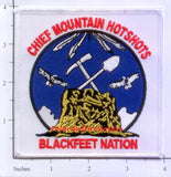 Montana -  Chief Mountain Hot Shots Fire Dept Patch