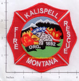 Montana -  Kalispell Fire Dept Patch
