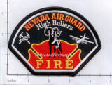 Nevada - Nevada Air Guard High Rollers Fire Patch