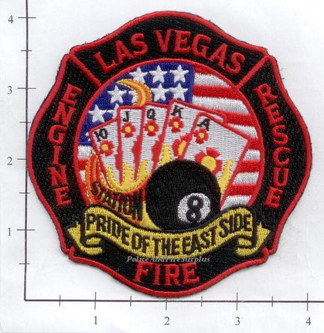 Nevada - Las Vegas Station  8 Fire Dept Patch v1