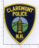 New Hampshire - Claremont Police Dept Patch v1 - Yellow Border
