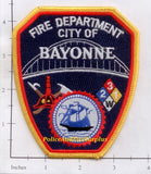 New Jersey - Bayonne Fire Dept Patch