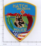 New Mexico - Hatch K-9 Police Dept Patch