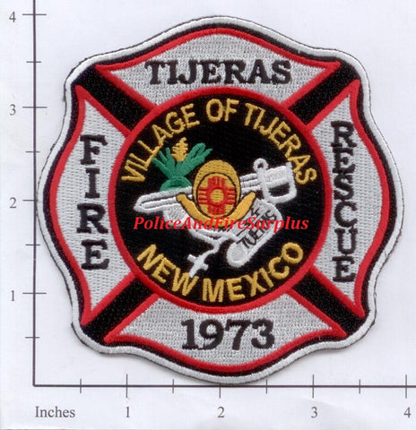 New Mexico - Tijeras Fire Rescue Dept Patch