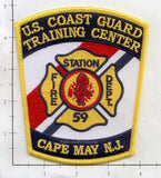 New Jersey - Cape May US Coast Guard Training Center Fire Dept Patch