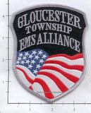 New Jersey - Gloucester Township EMS Alliance Patch