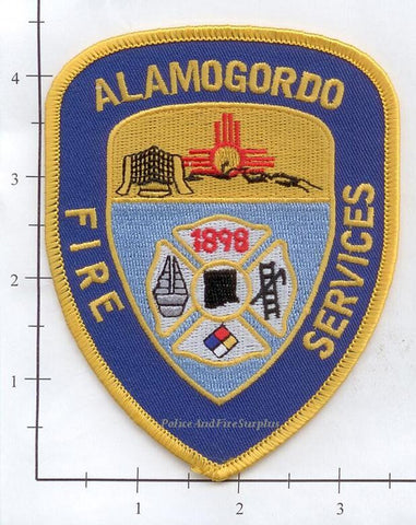 New Mexico - Alamogordo Fire Services Patch