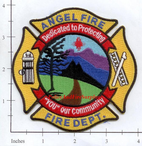 New Mexico - Angel Fire, Fire Dept Patch v2