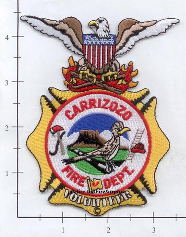 New Mexico - Carrizozo Volunteer Fire Dept Patch