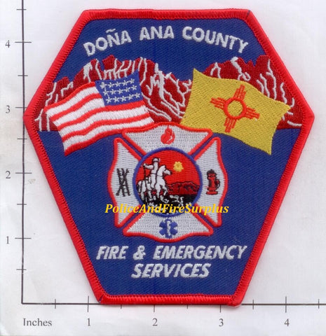 New Mexico - Dona Ana County Fire & Emergency Services Dept Patch