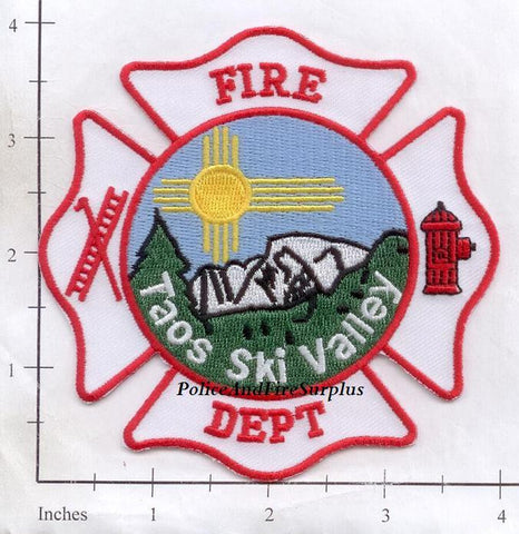 New Mexico - Taos Ski Valley Fire Dept Patch