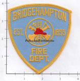 New York - Bridgehampton Fire Dept Patch v1