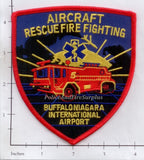 New York - Buffalo Niagara International Airport Aircraft Rescue Firefighting Patch