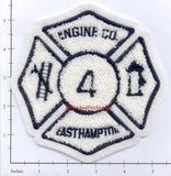 New York - East Hampton Engine 4 Fire Dept Patch