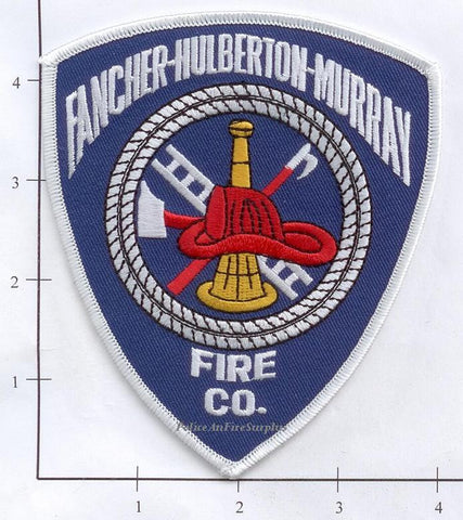 New York - Fancher-Hulberton-Murray Fire Company Fire Dept Patch v1