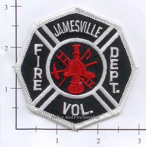 New York - Jamesville Volunteer Fire Dept Patch