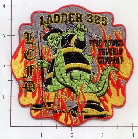 New York - Lawrence Cedarhurst Ladder 325 Fire Dept Patch