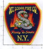 New York - Mount Lodge Fire Company Patch (001)