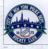 New York - New York City Hockey Club Police Dept Patch