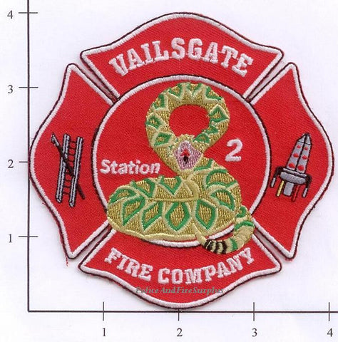 New York - Vails Gate Fire Company Station 2 Fire Dept Patch