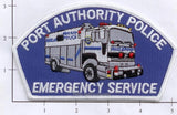 New York New Jersey Port Authority Emergency Service Police Dept Patch