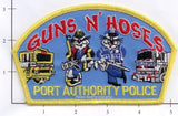 New York New Jersey Port Authority Guns and Hoses Police Dept Patch