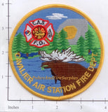 North Dakota - Cavalier Air Station Fire Dept Patch