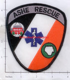 North Carolina - Ashe Rescue Patch