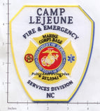 North Carolina - Camp LeJeune Fire & Emergency Services Patch