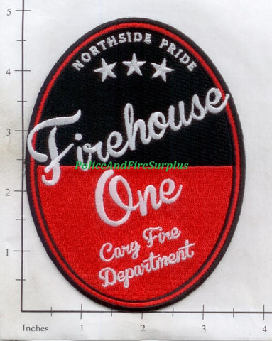 North Carolina - Cary Firehouse 1 Fire Dept Patch
