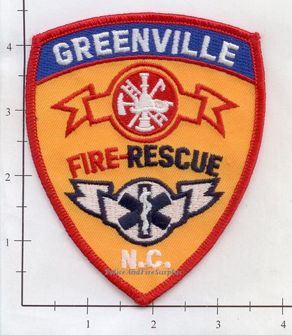 North Carolina - Greenville Fire Rescue Dept Patch