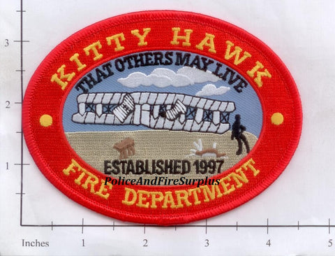 North Carolina - Kitty Hawk Fire Dept Patch v2