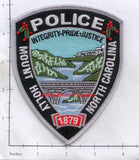 North Carolina - Mount Holly Police Dept Patch