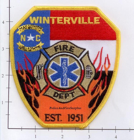 North Carolina - Winterville Fire Dept Patch
