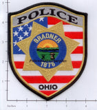 Ohio - Bradner Police Dept Patch