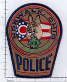 Ohio - Norwalk K-9 Police Dept Patch