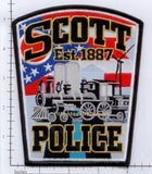 Ohio - Scott Police Dept Patch