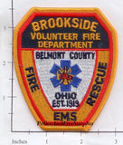 Ohio - Brookside Volunteer Fire Dept Patch v1
