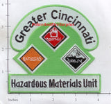 Ohio - Greater Cincinnati Haz Mat Unit Patch v2