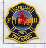 Ohio - Cleveland Fire Medic Fire Dept Patch v1