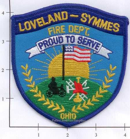 Ohio - Loveland - Symmes Fire Dept Patch v1