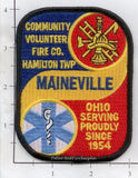 Ohio - Maineville Volunteer Fire Dept Patch v1