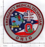 Ohio - Ohio Emergency Medical Technician Fire Dept Patch
