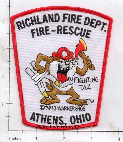 Ohio - Athens - Richland Fire Dept Patch